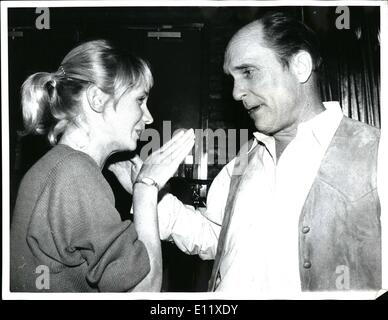 Feb. 02, 1981 - Marique Disco, New York City; Actor Robert Duvall, currently producing the upcoming movie ''Angelo - Stock Photo