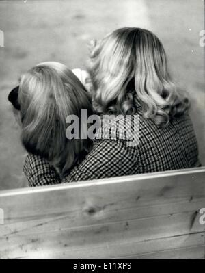 Feb. 13, 1981 - ''We are just good Friends?': Linda Clewley, from Wolrarhamption, took her best friends to the Curita - Stock Photo