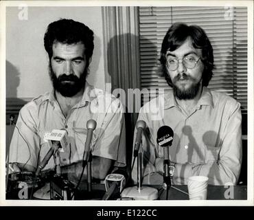 Jun. 30, 1983 - Thursday June 30th, 1983, New York City ? One of the founders of the Independent Soviet Peace Group, - Stock Photo