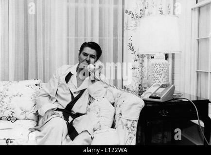 Oct 22, 1983; Washington, DC, USA; REAGAN DIED JUNE 5, 2004. The 40th U.S. President (1981-89) RONALD WILSON REAGAN - Stock Photo