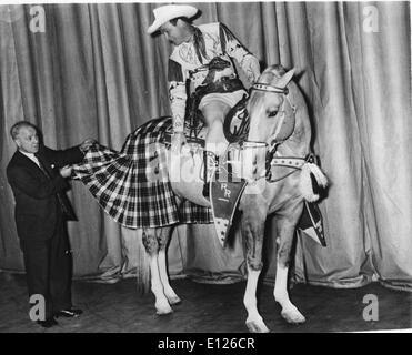 Jan 02, 2007; Los Angeles, CA, USA; LEONARD FRANKLIN SLYE aka ROY ROGERS (November 5, 1911 Ð July 6, 1998), who - Stock Photo