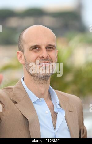 Cannes, France. 21st May, 2014. Italian director Edoardo Ponti poses during a photocall for 'Voce Umana' at the - Stock Photo