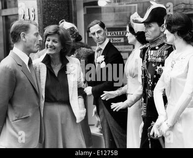 Apr 01, 2009 - London, England, United Kingdom - EDWARD FOX. Edward Charles Morrice Fox, OBE (born 13 April 1937) - Stock Photo