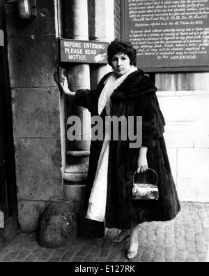 Apr 01, 2009 - London, England, United Kingdom - ALMA COGAN (19 May 1932 Ð 26 October 1966) was an English singer - Stock Photo