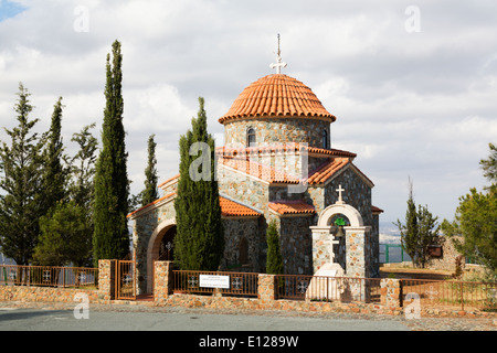 Church of All Saints, Stavrovouni Monastry, Cyprus - Stock Photo