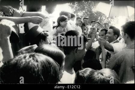 Dec. 16, 2011 - Philippine President Ferdinand Marcos campaigning 1969 for a second term. ne Pictures USA - Stock Photo