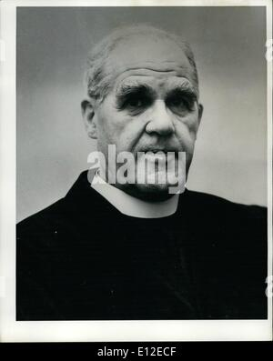 Dec. 20, 2011 - Roman Catholic Archbishop Thomas Roberts who has been banned from speaking at Foyles Literary luncheon.:The - Stock Photo