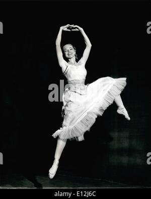 Feb. 24, 2012 - She Thought She's Never Dance Again - Now She Dances For The Queen: A girl, who, because of an attack - Stock Photo