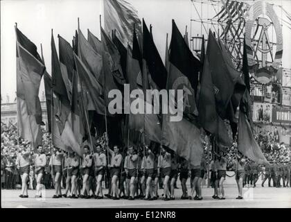 Feb. 24, 2012 - L. Mai in East Berlin. With a great military-parade East Berlin celebrate the l. Mai 1963 after - Stock Photo