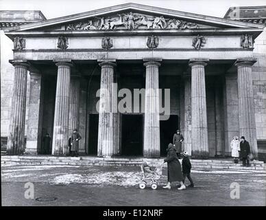 Feb. 24, 2012 - East Berlin Memorial for the victims of Fascism $ militarism at Unter Den Linden. - Stock Photo