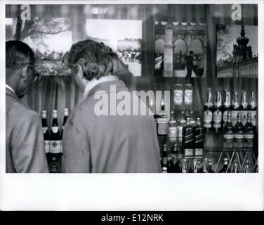 Feb. 24, 2012 - East Berlin DDR Liqueur Store - Stock Photo