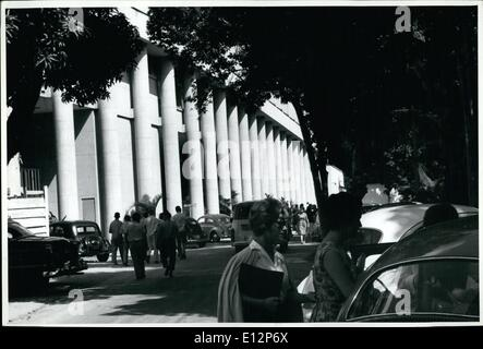 Feb. 24, 2012 - Brazil: PUC Rio De Jameiro Catholic University. - Stock Photo
