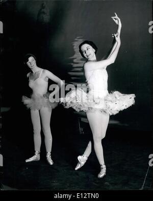 Feb. 24, 2012 - Hints From Her Prima Ballerina Auntie: 12-Year-Old Dancer Learns From Markova: Prima Ballerina Alicia - Stock Photo
