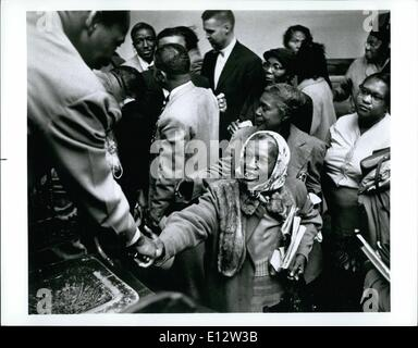 Feb. 25, 2012 - Reverend Martin Luther King Jr. March to Vision's End - Stock Photo