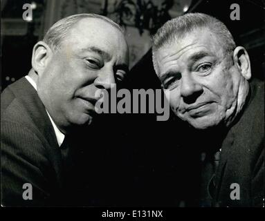 """Feb. 26, 2012 - Rogers and Hammerstein in London for new show. Preparing for """"Flower Drum Song†– - Stock Photo"""