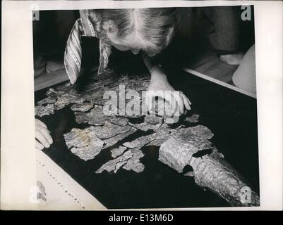 Mar. 22, 2012 - According to the opinion of experts - of the German National Museum in Nuremberg the so-called ''Nuremberg - Stock Photo