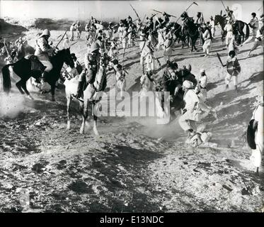 Mar. 22, 2012 - Into battle with Simon ward as ''Young Winston'': In the September 1898 Battle of Omdurman, in the - Stock Photo