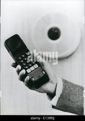 Mar. 27, 2012 - A New Wireless Telephone A short time aghttp://204.75.12.232/worker/index.php/images/rotate/?i=http%3A%2F%2F204.75.12.232%2Fimages%2FKSB%2FKSB70759.jpg&d=0o - Stock Photo
