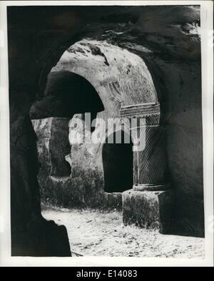 Mar. 27, 2012 - Ancient relics discovered at Exacavation of Beith Shearim in the lower Galilee: Beith Shearim, situated - Stock Photo