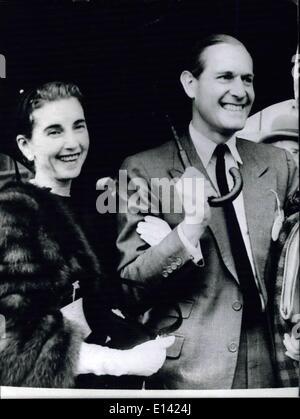 Mar. 31, 2012 - Former German Tennis Champion Cottfreid Von Cramm Died In Car Crash In Egypt: gottfried Von Cramm, - Stock Photo