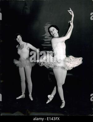 Mar. 31, 2012 - Hints from her Prima Ballerina Auntie: 12 year old dancer learns from Markova: Prima Ballerina Alicia - Stock Photo
