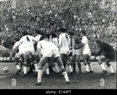 Apr. 04, 2012 - Football or Rugby?: Scene taken during the football match and Florence between the team Fiorentina - Stock Photo