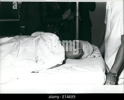Apr. 16, 2012 - One woman killed and about thirty persons seriously injured in bomb blast. Milan 17 May 1973: At - Stock Photo