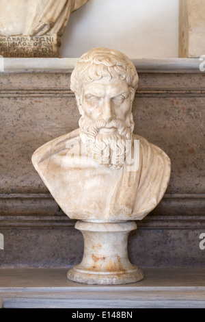 Portrait of Epicurus - Stock Photo
