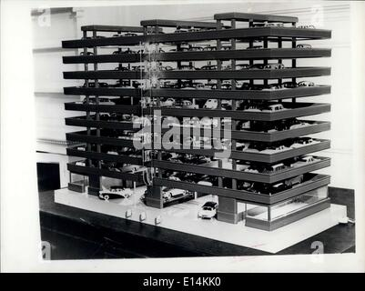 Apr. 05, 2012 - Multi-storey car park approved.: The City Corporation announced today the approval of Britain's - Stock Photo