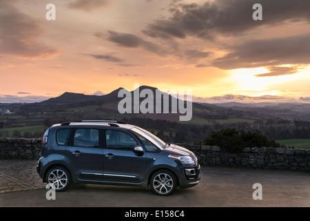 Citroen C3 Picasso car 2014 - Scottish Borders location  LCD