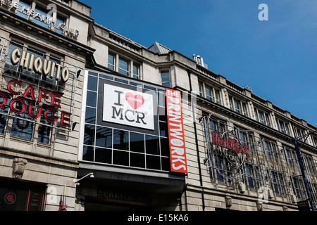The Printworks building in Manchester city centre UK - Stock Photo