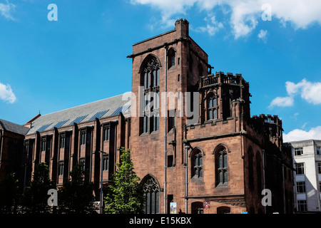 The John Rylands Library building Manchester UK - Stock Photo
