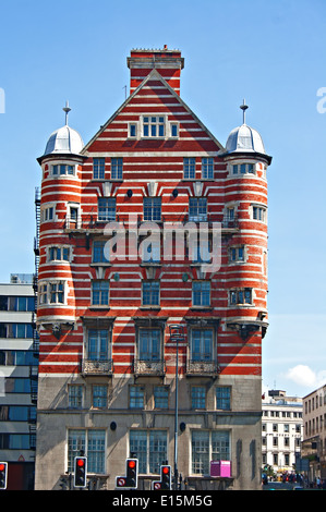 Albion House, former home of The White Star Line in Liverpool UK - Stock Photo