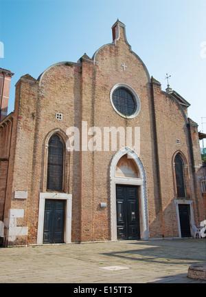 Venice - Chiesa di San Giovanni Battista in Bragora church. - Stock Photo