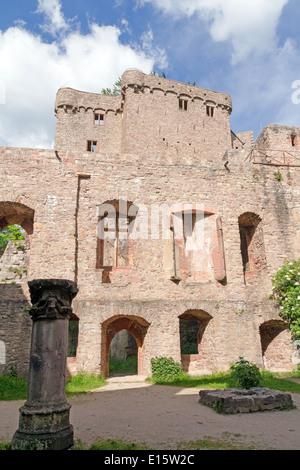 Baden-Baden, Germany, Old Castle ruins