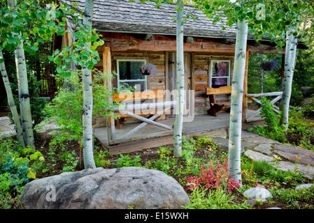 Betty Ford Alpine Gardens. Vail, Colorado   Stock Photo