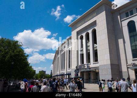 Yankee Stadium, Gate 6.  The Bronx, New York, NY