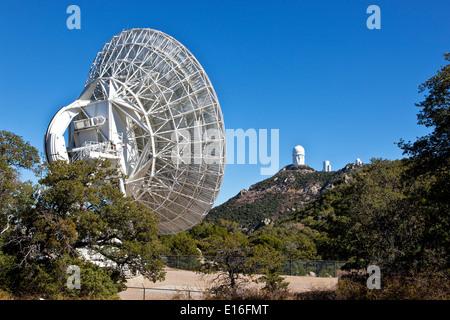 VLBA Radio Telescope Antenna. - Stock Photo