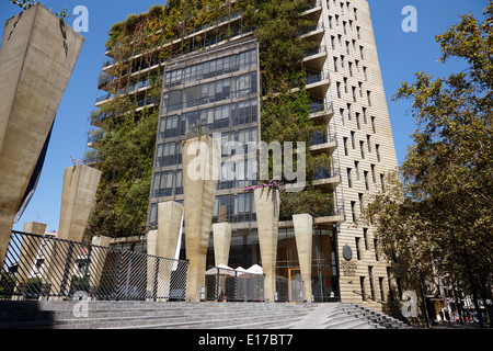 casa central pontifical catholic university of Santiago Chile - Stock Photo