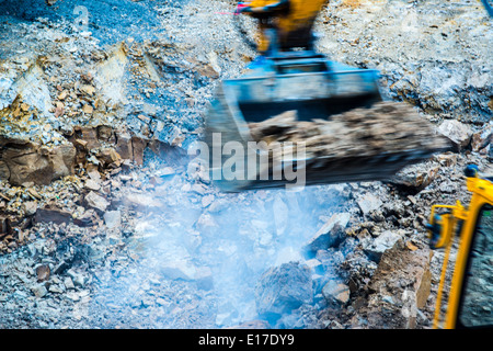 abstract - excavator - Stock Photo