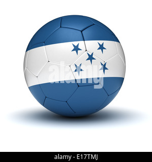 Honduran Football (isolated with clipping path) - Stock Photo