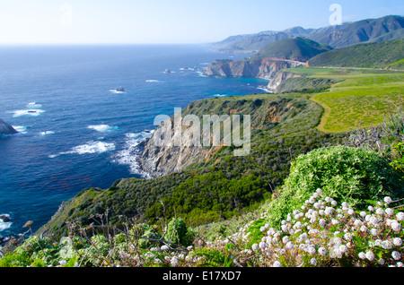 Big Sur California USA - Stock Photo