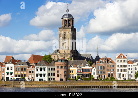 City view of Deventer, The Netherlands - Stock Photo