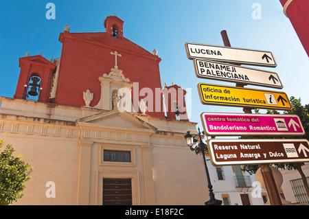 Church of St. Joseph, 17th century, Jauja, Cordoba-province, Region of Andalusia, Spain, Europe - Stock Photo