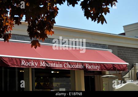Niagara on the Lake chocolate store - Stock Photo