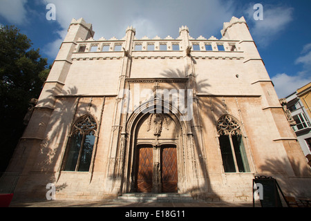 Sa llotja, historical building, palma de mallorca, mallorca island, spain, europe - Stock Photo