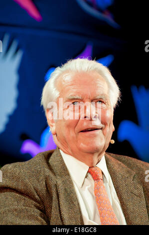Hay-on-Wye, Powys, UK. 26th May 2014.David Owen at The Hay Festival of Literature and Arts which celebrates its - Stock Photo
