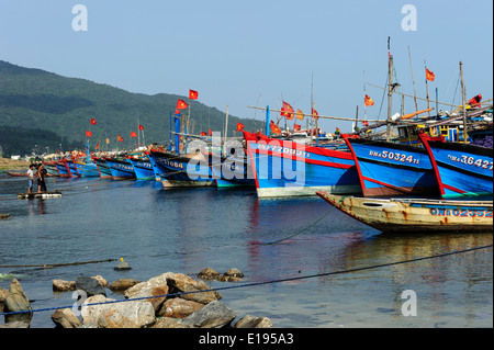 Vietnamese Fishing Boats - Stock Photo
