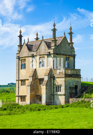 East Banqueting House Jacobean Lodge, Chipping Campden, Gloucestershire, Cotswolds, England, UK, EU, Europe - Stock Photo