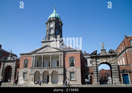 Bedford Tower built 1761 as part of Dublin Castle, seat of English rule in Ireland Dublin,Ireland - Stock Photo